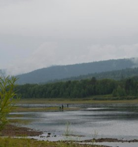 Свежая речная рыба с нижней тунгуски