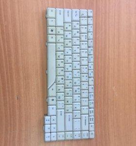9J.N5982.60R Клавиатура белая