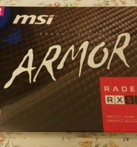 Видеокарта MSI Armor RX 580 4GB.Новая, в упаковке.
