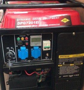 Электрогенератор (Электростанция) DDE DPG7201Ei