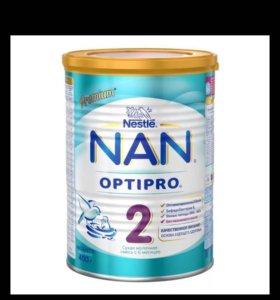 Сухая Молочная Смесь NAN OPTIPRO 2 от 6 месяцев
