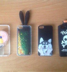 Чехлы для iPhone 5, 5/s/SE
