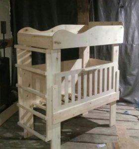 продаю детскую двухярусную кровать