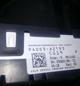 Панель приборов [94003A2193] для Kia Ceed II
