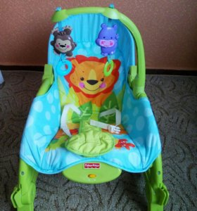 Кресло-качалка(шезлонг) Fisher Price Mattel+🎁