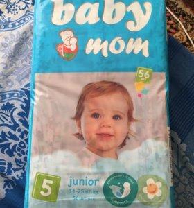 Подгузники Baby Mom junior от 11-25 кг 56 шт