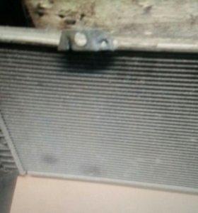 Saab 9000 радиатор охлаждения двигателя