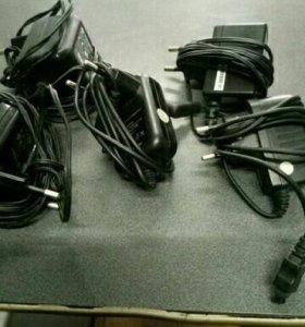 Продам зарядки и кабеля от разных телефонов