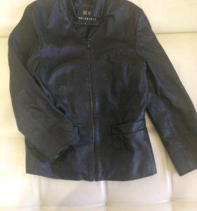 Куртка Пиджак кожаный женский
