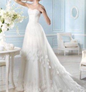 Свадебное платье 44-46 р-р