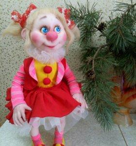 Кукла клоун.