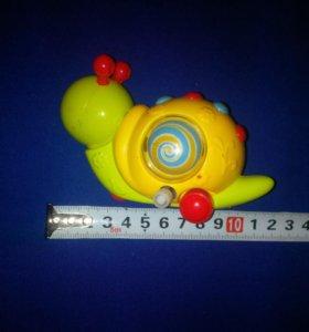 Заводная игрушка улитка (1 штука!)