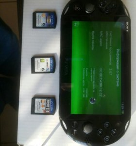PS Vita прошивка 3.67