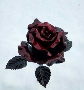 Цветы из метала
