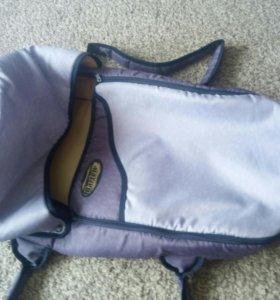 Люлька- переноска для малыша + сумка