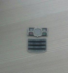Клавиатура для телефона нокиа 6700 с новая черная