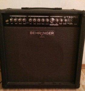 Гитарный усилитель Behringer VT50FX