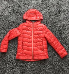 Куртка на девочку zara kids 164