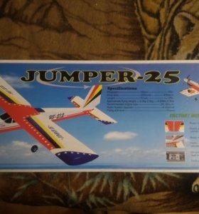 Радиоуправляемый самолет jumper 25