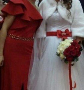 Свадебное манто