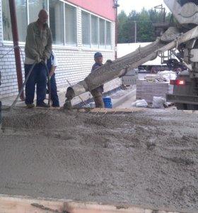 Строительный бетон для фундамента,стяжки,под сваи