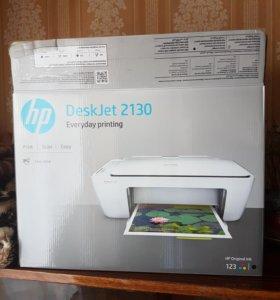 Принтер ЦВЕТНОЙ HP 2130