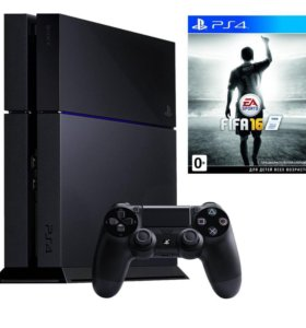 Sony PlayStation4 500gb+fifa17
