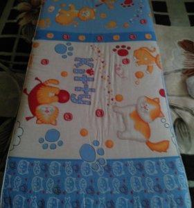 Детский матрац на кроватку