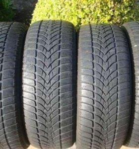 Зимние шины R18 225 40 Dunlop 4D 2-4ш