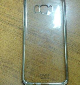 Универсальный силиконовый чехол на Samsung S8