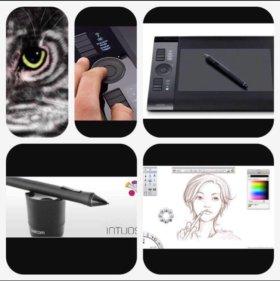 Профессиональный графический планшет формата А4