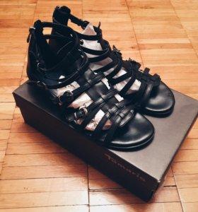 Босоножки сандалии гладиаторы