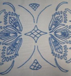 Кутюрная (люневильская) вышивка бисером