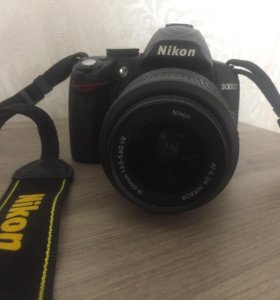 Фотоаппарат Nikon D3000 в идеальном состоянии