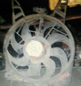 Хендай лантра j1 вентилятор радиатора