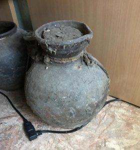 Горшки глиняные старинные