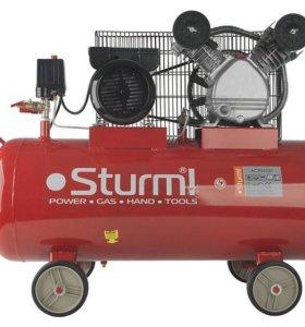 Воздушный компрессор Sturm 2,4 квт