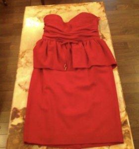 Платье красное dsquared2 оригинал