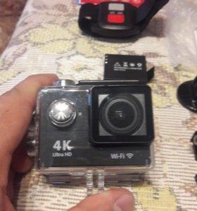 4К экшн- камера