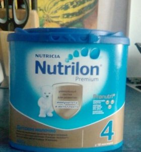 Детское молочко Nutrilon 4