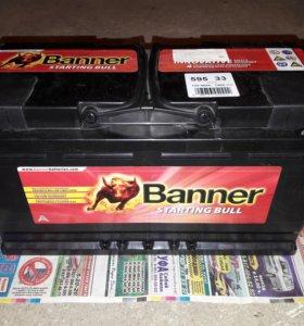 Новый аккумулятор BANNER Starting Bull 95 А/ч