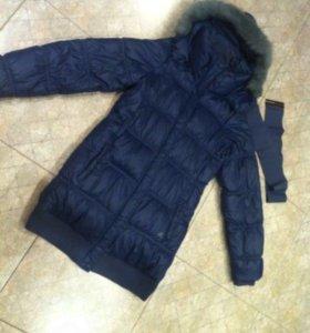 Пальто пуховик куртка Adidas