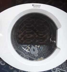 Дверца стиральной машины аристон