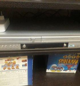 Dvd плеер с VHS