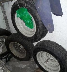 Продам зимние колеса в сборе р13