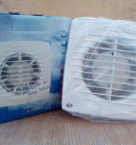 Вентилятор вытяжки канальный, настенный/потолочный