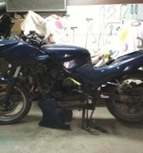 Kawasaki gpz 500 разбор