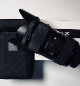 Sigma Nikon AF 18-35 mm F/1.8 DC HSM ART