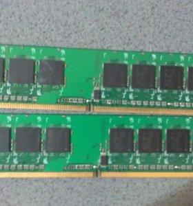 Планки оперативной памяти DDR 2 NCP