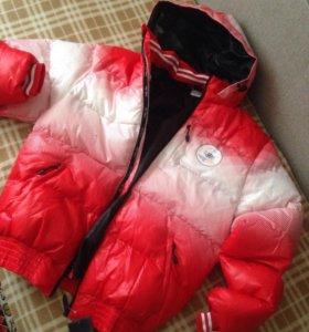Костюм зимний тёплый  куртка штаны